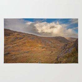 Healy Pass Caha Mountains Ireland Rug