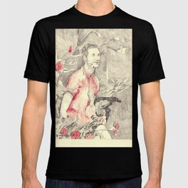 RiFF RAFF with ReD ROSeS T-shirt