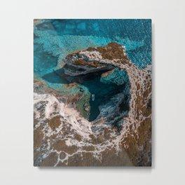 Island of Paxos, Greece Metal Print