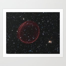 Celestial Bauble Art Print