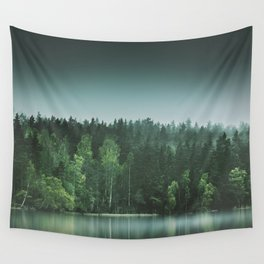Echoes III Wall Tapestry