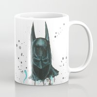 bat man Mugs featuring Bat man by McCoy