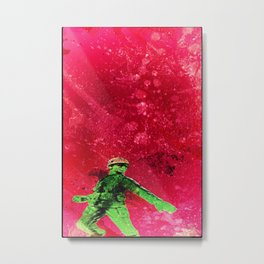Shock Troops Metal Print