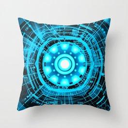 Arc Reactor Throw Pillow