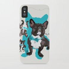 Chauncey Loves You - French Bulldog Slim Case iPhone X