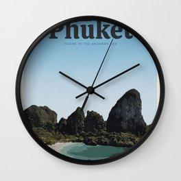 Visit Phuket Wall Clock
