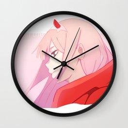 zero side Wall Clock