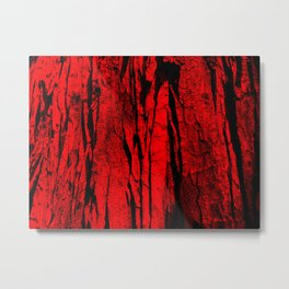 red bark Metal Print