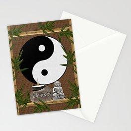 The Balance of Yin Yang Stationery Cards