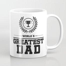 World`s Greatest DAD Coffee Mug