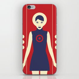 Isolde Red iPhone Skin