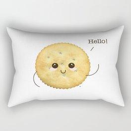Super Cute Realistic Cracker Kawaii (Clever huh?) :p Rectangular Pillow