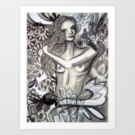 Ponderland Art Print