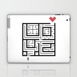 The Path of Love Laptop & iPad Skin