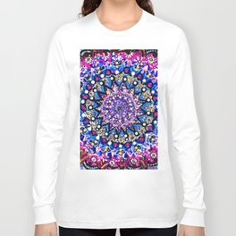 Orb Weaver Mandala Long Sleeve T-shirt