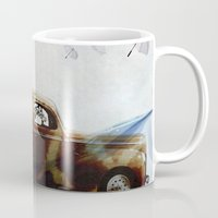 drive Mugs featuring DRIVE by Jerzy Jachym