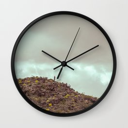 Landscape Joshua Tree 7385 Wall Clock