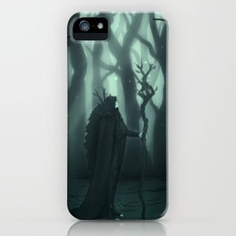 Deity of the Forest iPhone Case