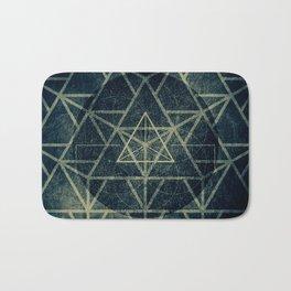Tetrahedron Ignis Dark Bath Mat