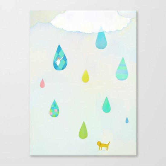 Raindrop Canvas Print