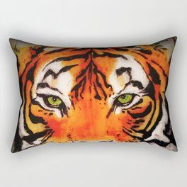 Tiger in the Shadows Rectangular Pillow