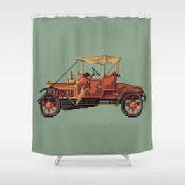 Antique car 4 Shower Curtain