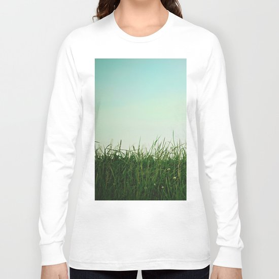 The Grass Is Greener Here  Long Sleeve T-shirt