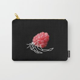 Raspberry Hermit Crab Carry-All Pouch