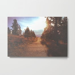 Knox Mountain Metal Print