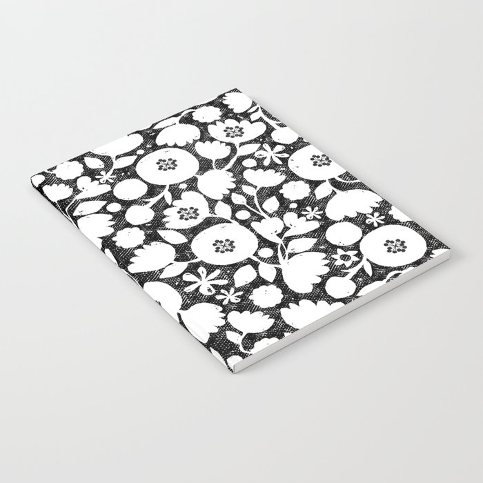 clear cut flowers Notebook