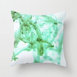 INK DROP Throw Pillow
