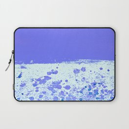 Ink Drop Blue Laptop Sleeve