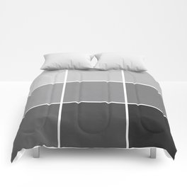 9 Shades of Black Comforters