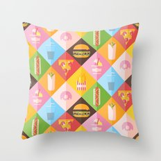 Guilty Pleasures Throw Pillow