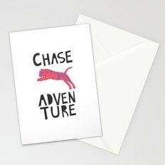 Chase Adventure, nursery art, children's art Stationery Cards
