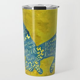 How had they survived... Strange the Dreamer Travel Mug