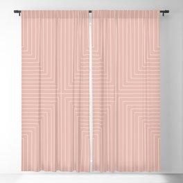 Angular Lines VII Blackout Curtain