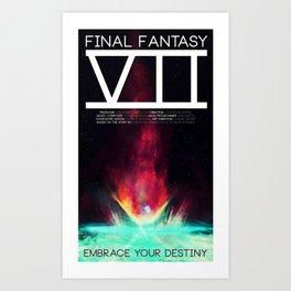 Final Fantasy VII - Destiny Art Print
