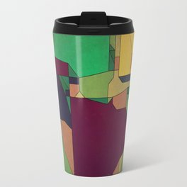 Patchwork of Color Travel Mug