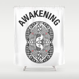 Vesica Piscis Awakening Shower Curtain