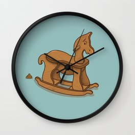 Shit Happens Wall Clock