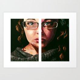 Hemisphere Art Print