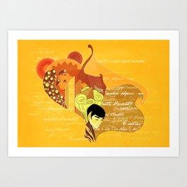 Vulcan Mind Art Print