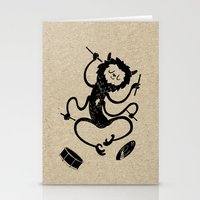 monster Stationery Cards featuring Monster by Anya Volk