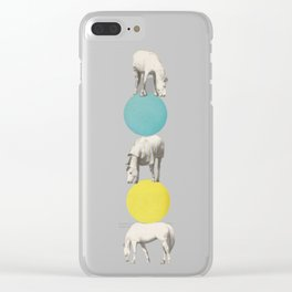 Horseplay Clear iPhone Case