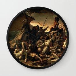 The Raft of the Medusa - Théodore Géricault Wall Clock