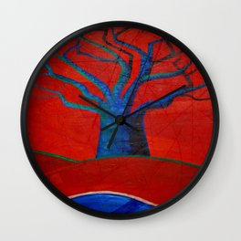 Ceiba Wall Clock