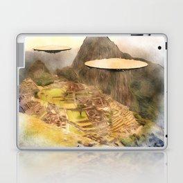 UFO over Machu Picchu Laptop & iPad Skin