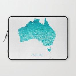 Australia Map  Laptop Sleeve