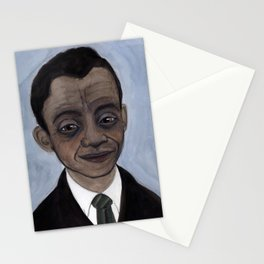 James Baldwin Literary Portrait Stationery Cards